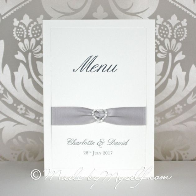 Ribbon Heart  Menu